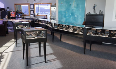 Inside Landmark Jewelers